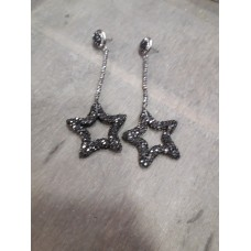 Σκουλαρίκια  με στρας  αστέρια