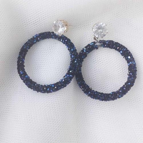 Σκουλαρίκια με στρας