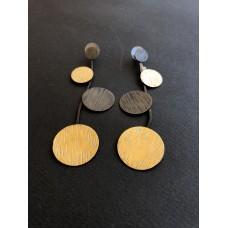Σκουλαρίκια ορείχαλκου